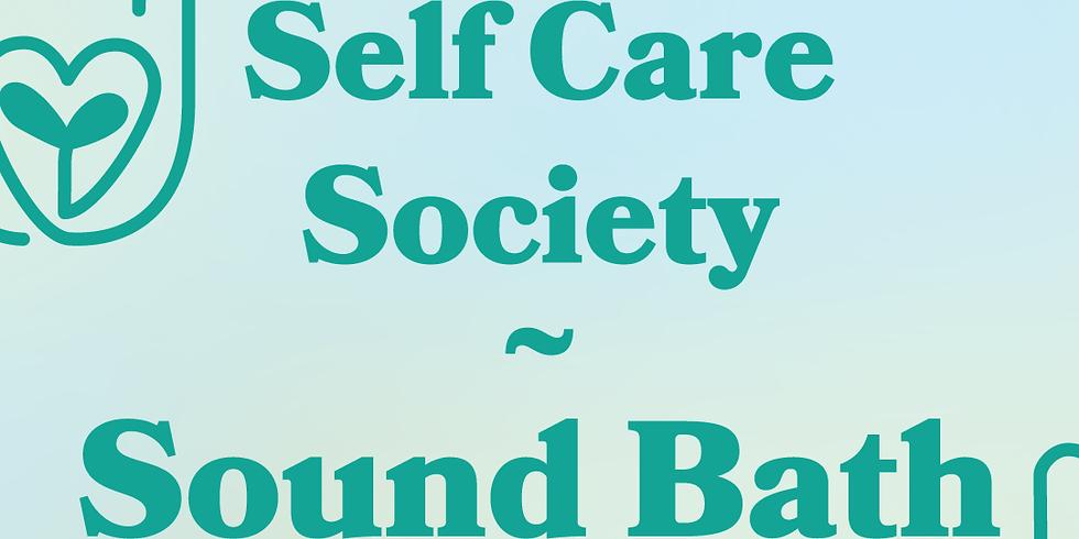 Self Care Society – Soundbath