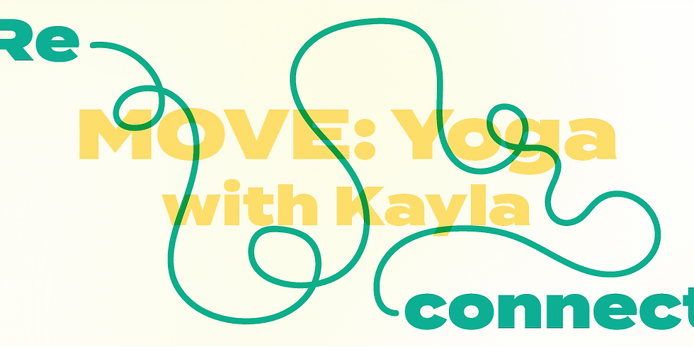 Reconnect: MOVE Yoga 5pm