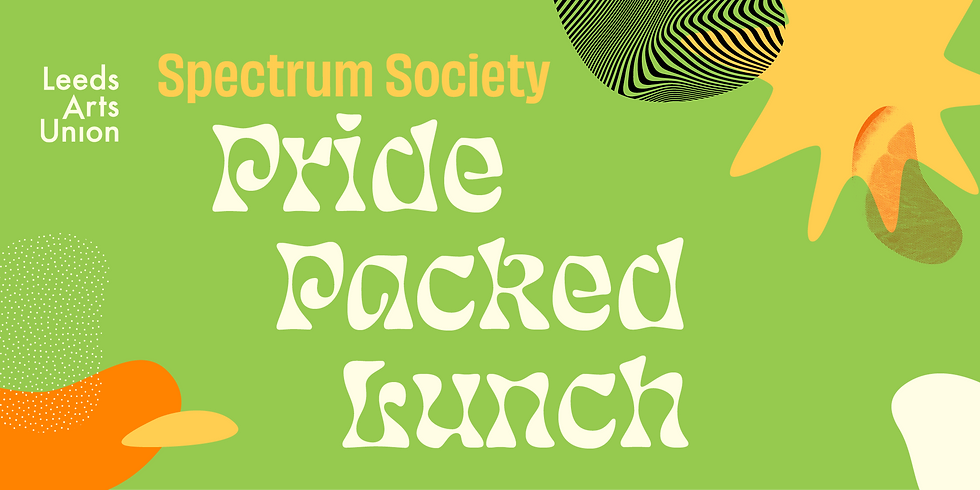 Freshers 21: Pride Packed Lunch