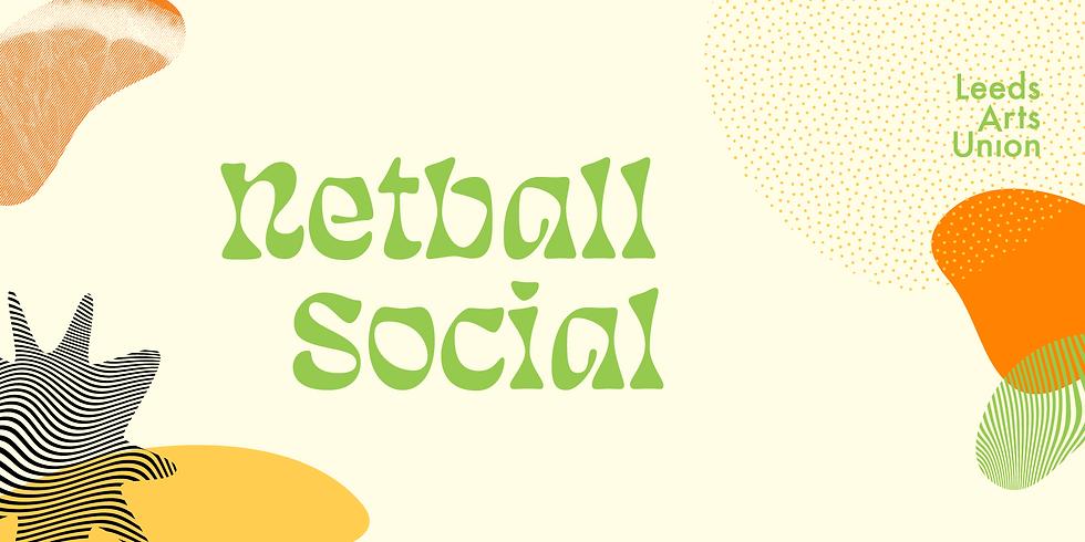 Freshers 21: Netball Social