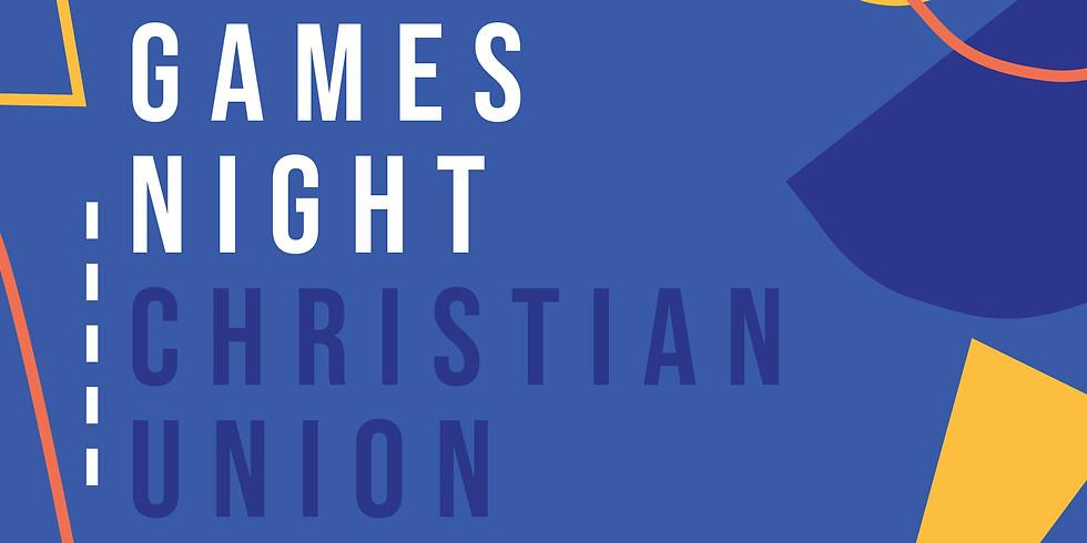 Christian Union Society Games Night (1)