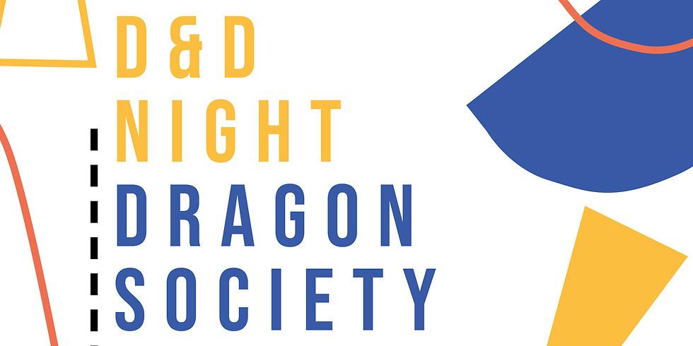 Dragon Society D&D Night