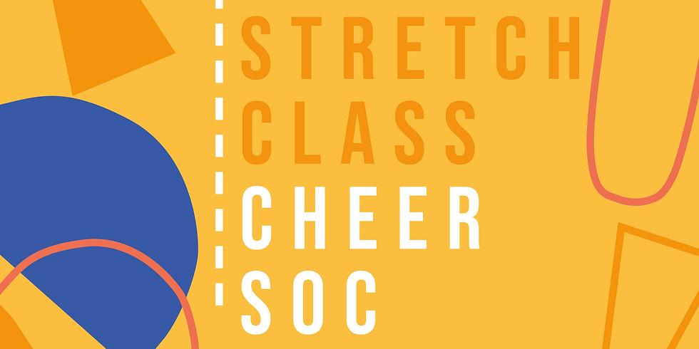 Cheerleading Society Stretch Class