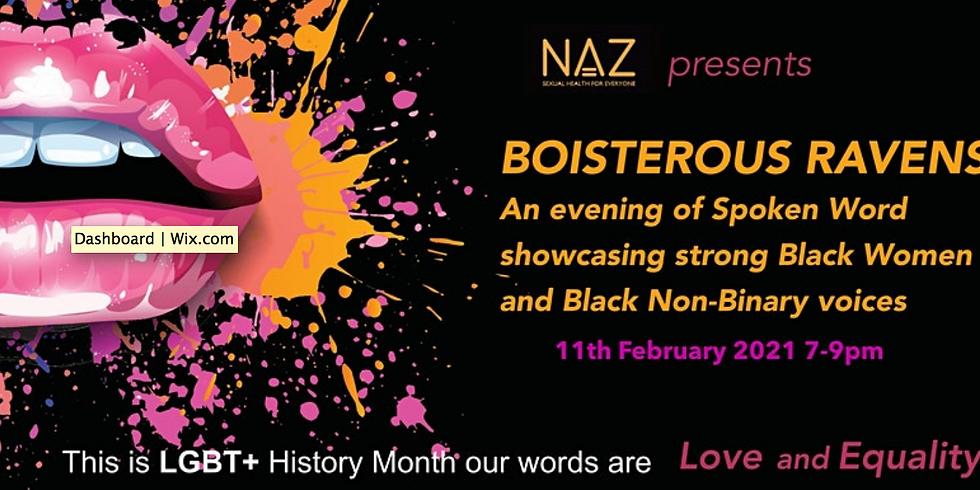 Boisterous Ravens LGBT+ History month