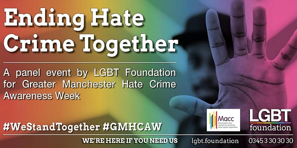Ending Hate Crime Together: An LGBT Foundation Panel Event