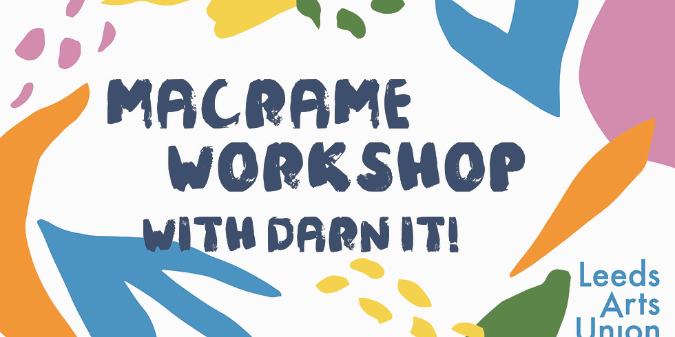 Macrame Workshop with Darn It!