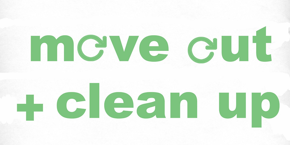 Move Out + Clean Up