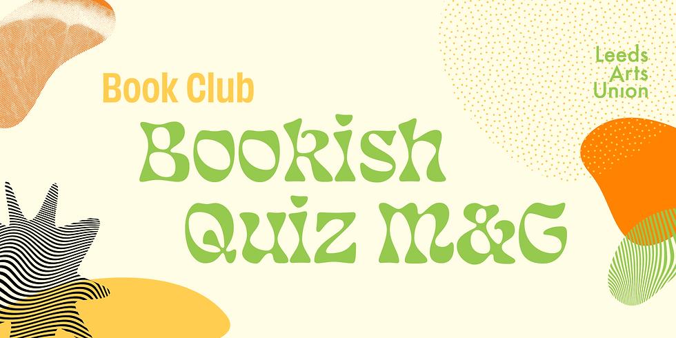 Freshers 21: Book Club Meet & Greet/Bookish Quiz