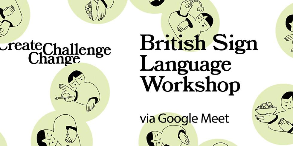 British Sign Language Workshop