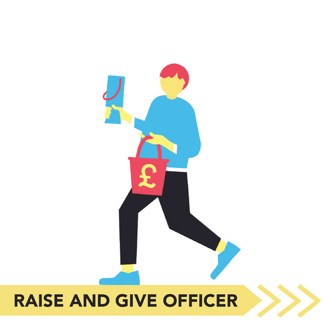 Raise and Give Officer