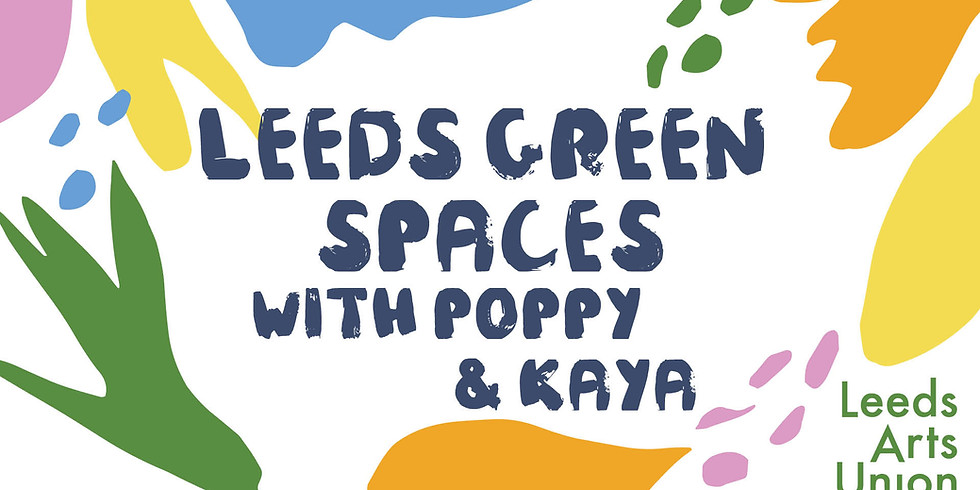Leeds Green Spaces with Poppy & Kaya