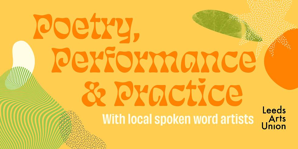 Freshers 21: Poetry, Performance & Practise