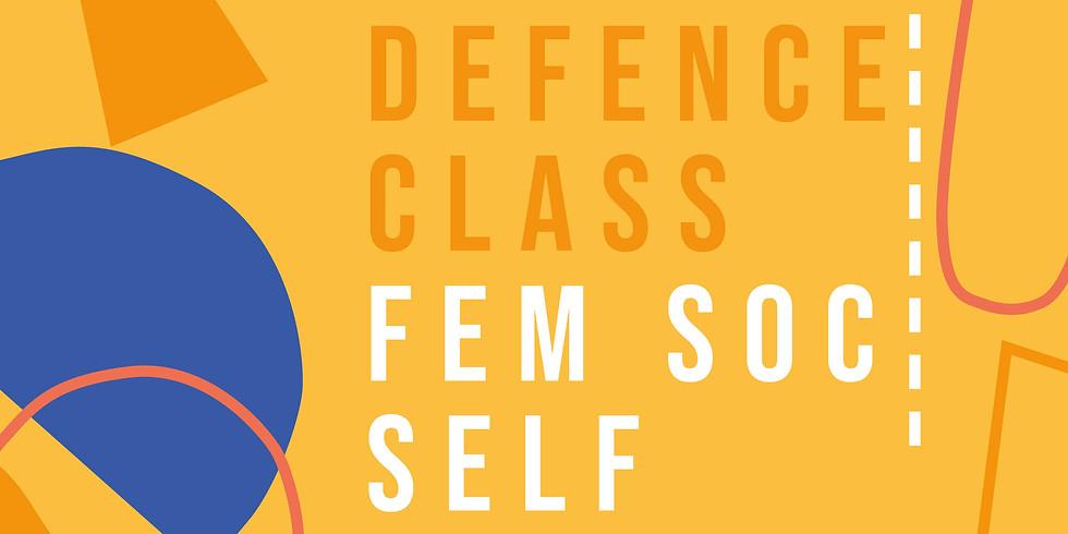 Feminist Society Self Defence Class
