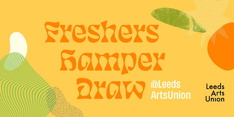 Freshers 21: Freshers Hamper Draw