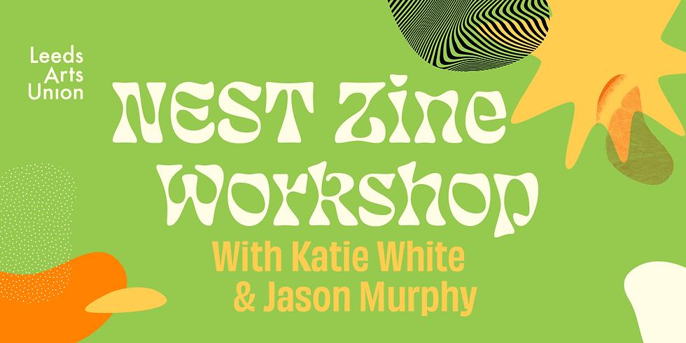 Freshers 21: NEST Zine Workshop
