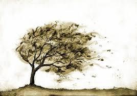 Ο πόνος μέσα από τη μεταφορά του άνεμου και του δέντρου
