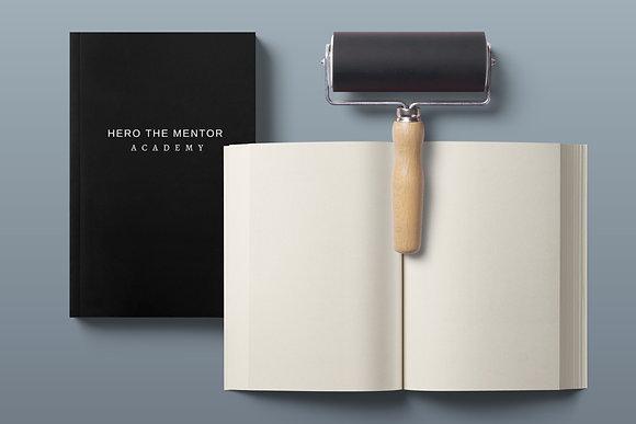 Hero The Mentor Academy Notebook