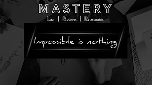 MASTERY Life Business Relationship
