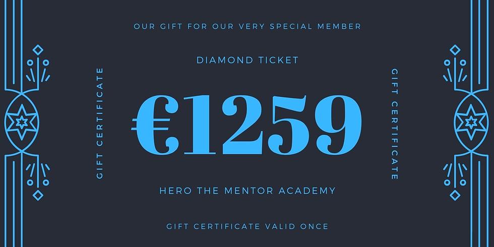 1 Ticket Any Event Diamond