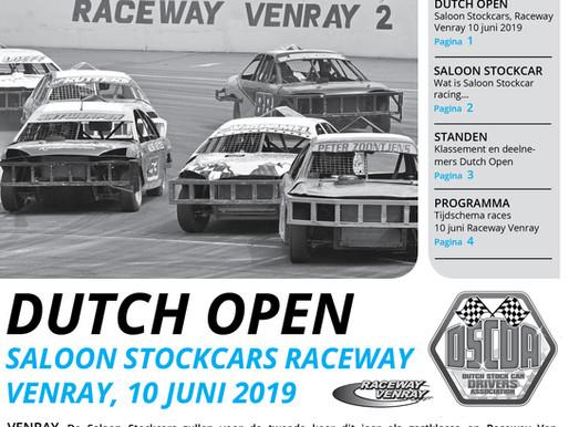 Dutch Open Saloon Stockcars Raceway Venray, 10 juni 2019