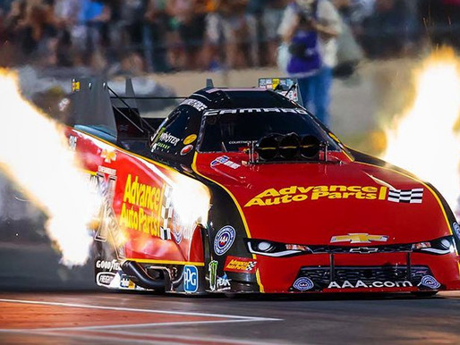 Courtney Force, the winningest female funny car driver in NHRA history