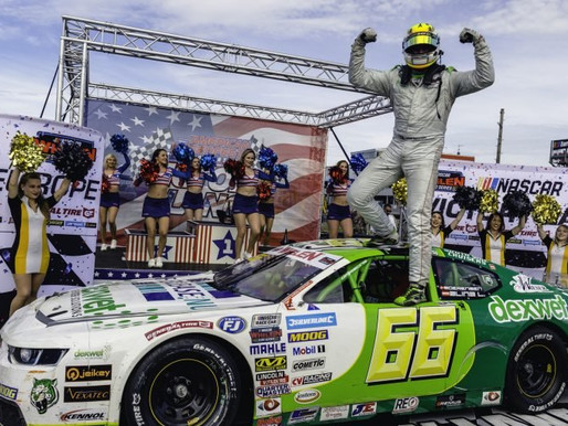 SOERENSEN CROWNS HIMSELF PRINCE OF BRANDS HATCH  'DEXWET-DF1 Racing'