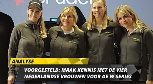 Maak kennis met de vier Nederlandse vrouwen voor de W-Series