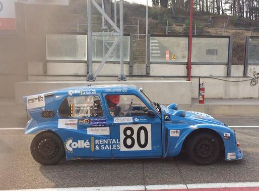 Het 2CV Collé/VGS Racing Team pakt P1 tijdens de 1000 km van Zolder (B)