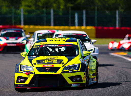 Maximale score voor Stan van Oord tijdens hete Spa Euroraces