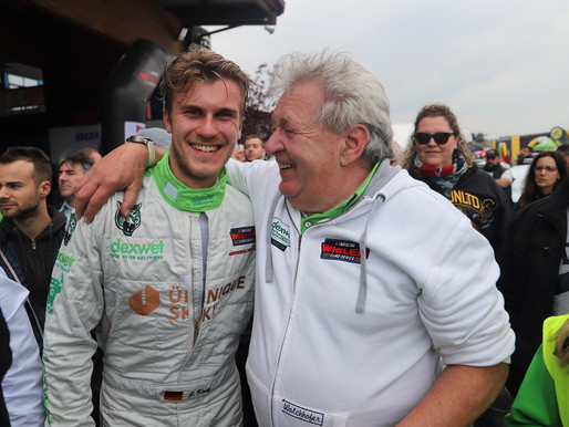 Starker EuroNASCAR-Saisonauftakt 2019 von Justin Kunz  'DEXWET-DF1 Racing'