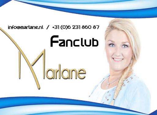 Zangeres Marlane en haar Fanclub