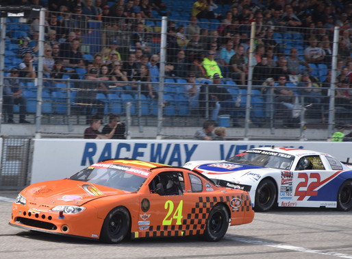 ASCAR podium voor Tony Sempels in V8 Oval Series
