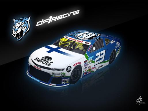 DF1 Racing verpflichtet Henri Tuomaala für die EuroNASCAR-Saison 2020.