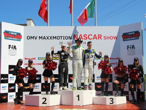 Dexwet-df1 Tiger Lasse Sörensen stürmt beim Debüt der EuroNASCAR in Most wieder  'DEXWET-DF1 Racing'