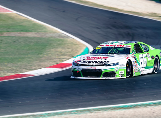 DF1 Racing mit solidem Start in die EuroNASCAR-Saison 2020 in Vallelunga