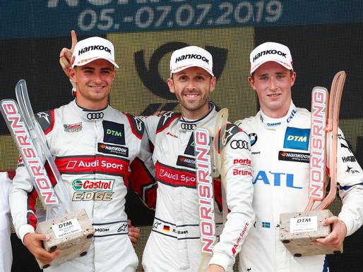 DTM: Erst Rückschlag, dann zurückgeschlagen: René Rast siegt souverän am Norisring