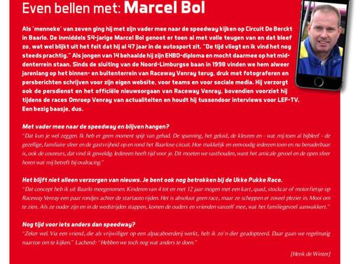 Even bellen met: Marcel Bol, START84