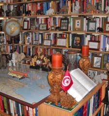 Une bibliothèque géante sur Hannibal...
