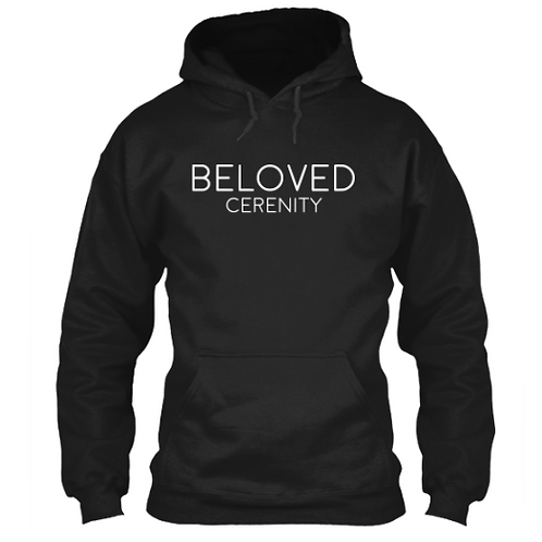 White Beloved Cerenity Hoodie