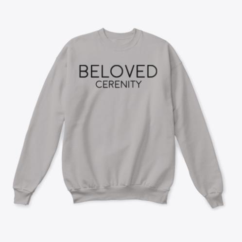 Black Beloved Cerenity Crewneck
