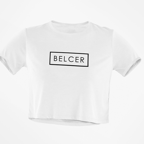 Black BelCer Recked Crop Top