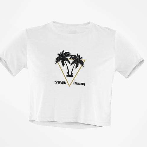 BC Palms Crop Top