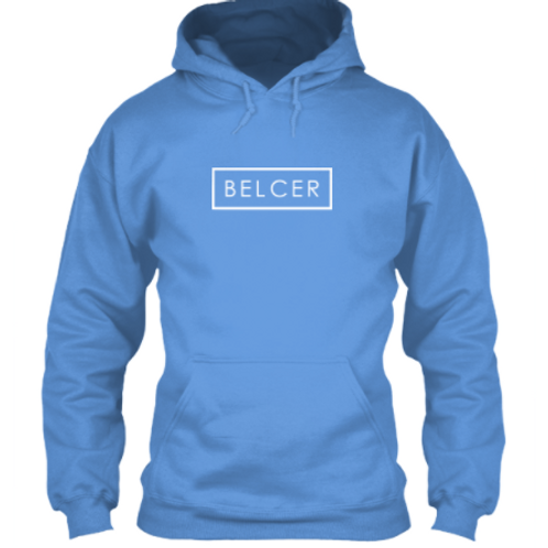 White Belcer Recked Hoodie