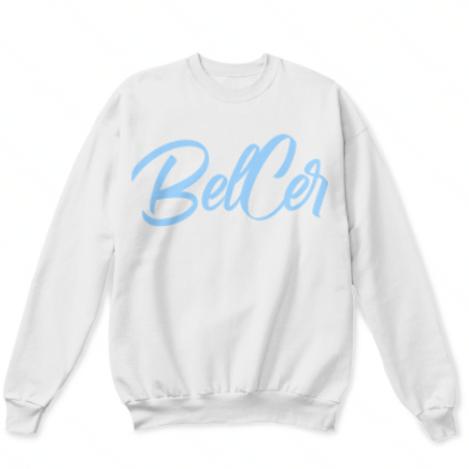 Light Blue Belcer Crewneck