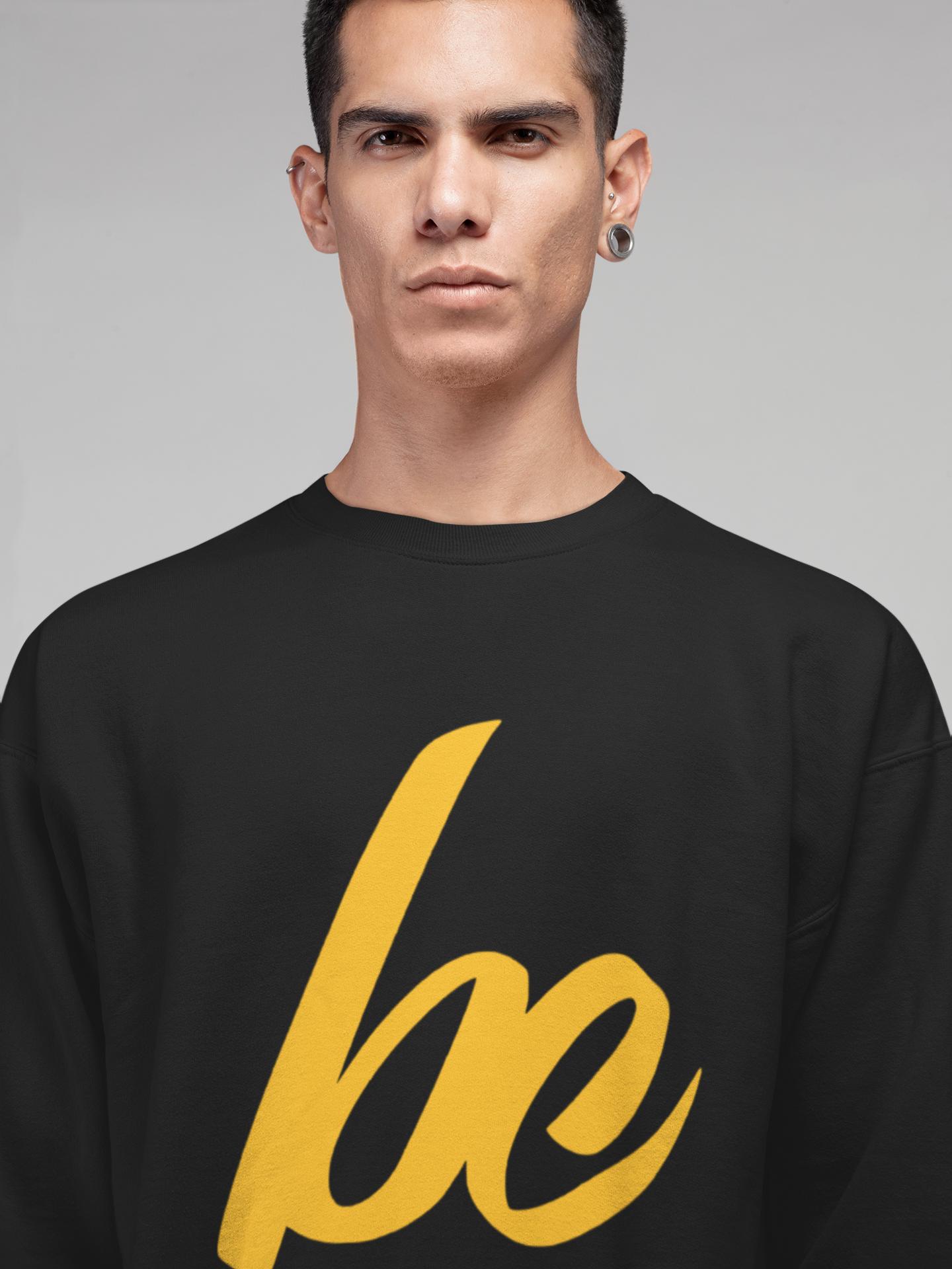 Exclusive Gold BC Crewneck Sweater