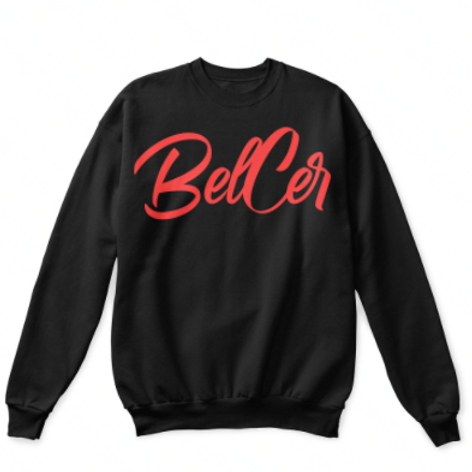 Red Belcer Crewneck