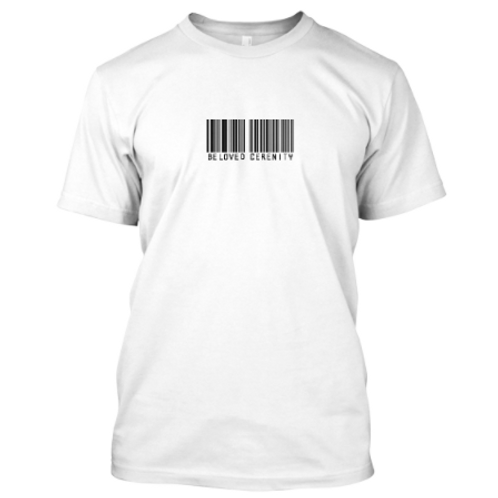 Beloved Cerenity Barcode SS Tee