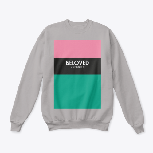 Beloved Green Bottom Crewneck