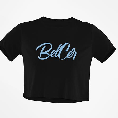 Blue BelCer Crop Top