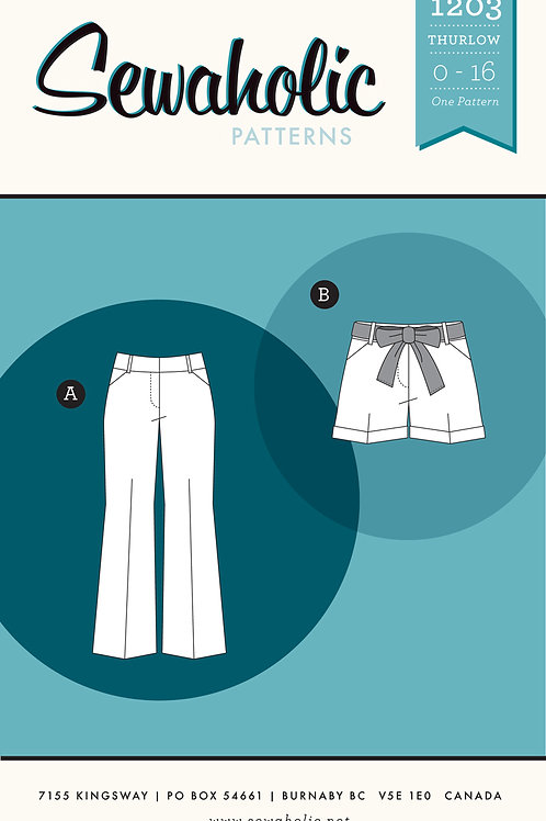Thurlow Trousers Pattern